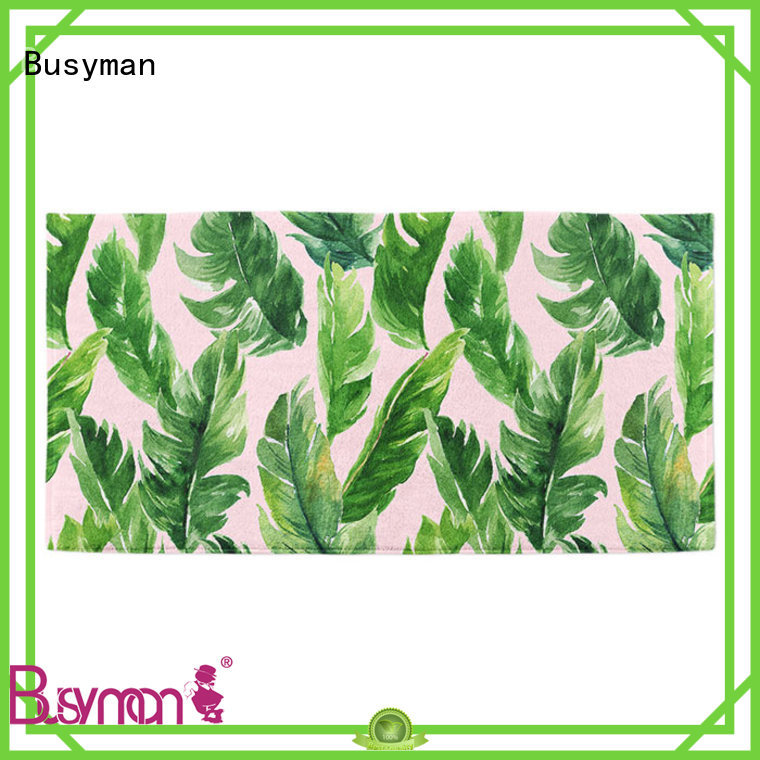Busyman microfiber beach towel wholesale suitable for gym