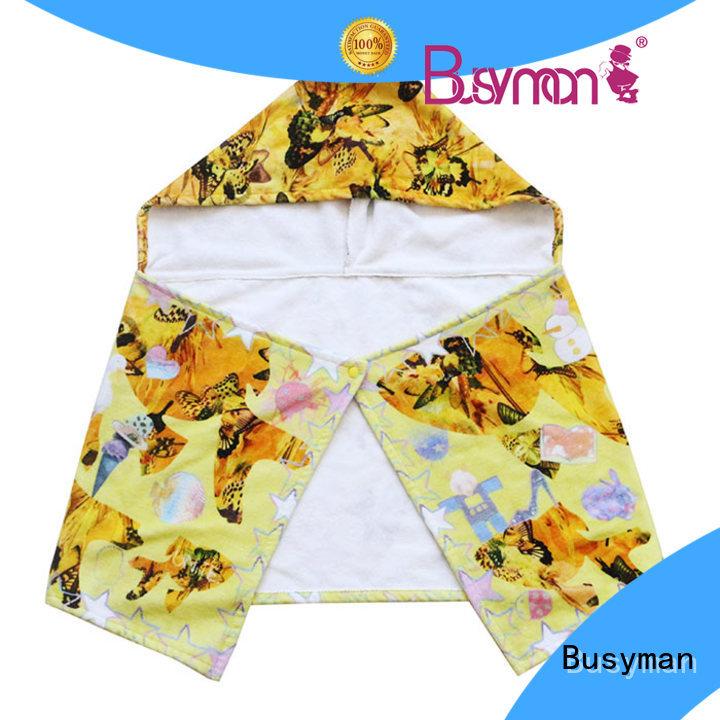 Busyman custom hooded towel home