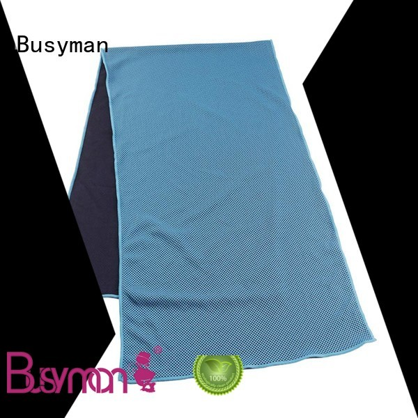Busyman custom cooling towel yoga