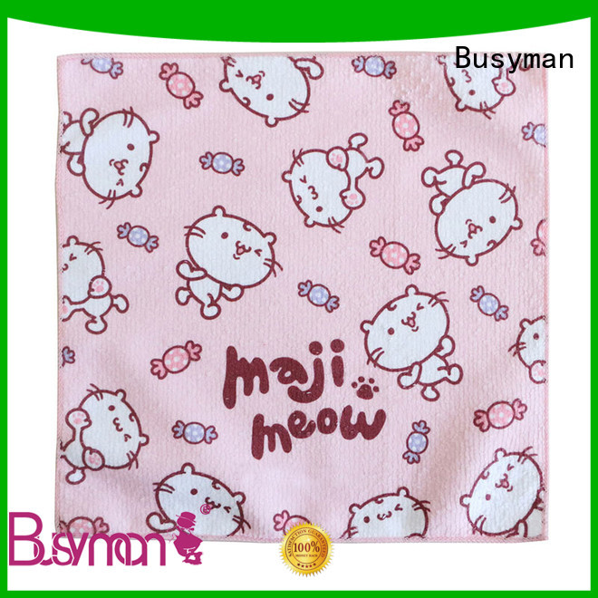 Busyman cute wholesale hand towels very useful for gift