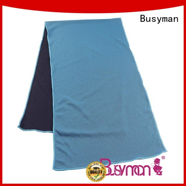 Busyman perfect cooling towel widely applied for running