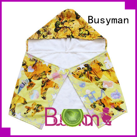soft custom hooded towel excellent for hotel