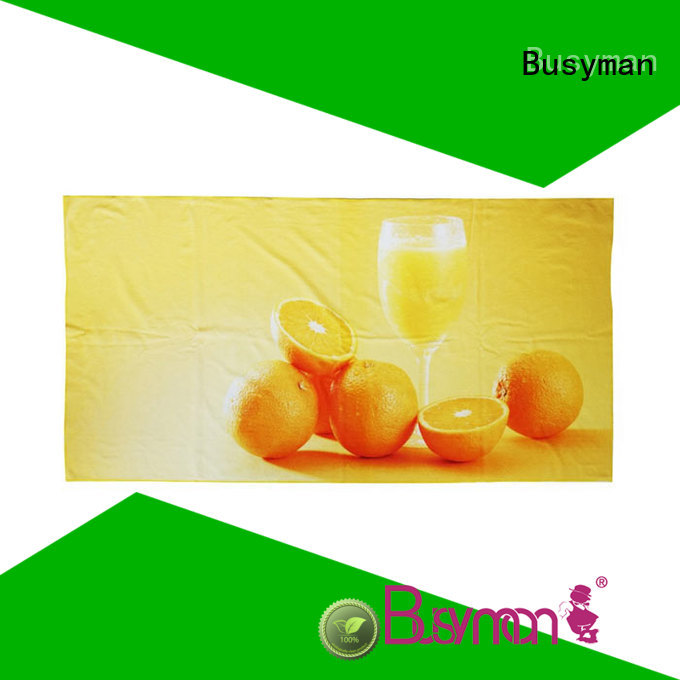 Busyman soft beach towels with logo picnic