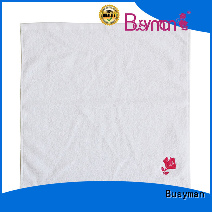 Busyman hand towel supplier widely applied for gift