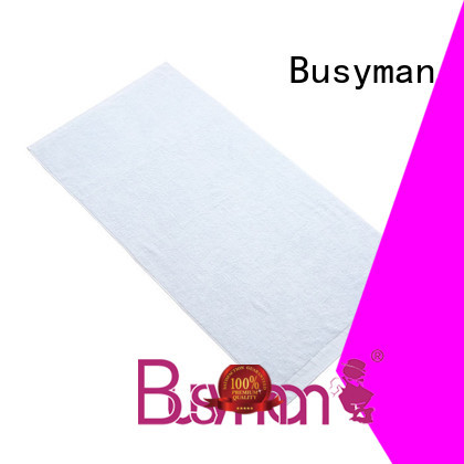 Busyman antibacterial bamboo bath towel optimal for kitchen