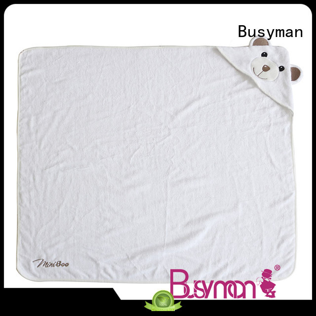 Busyman safe hooded towel supplier great for baby