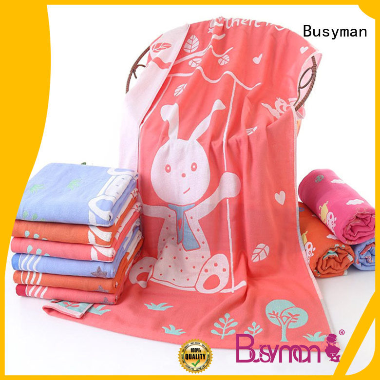 Busyman personalized towels perfect for swimming