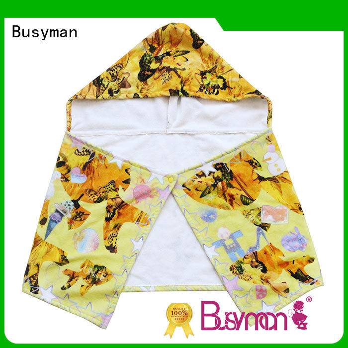 cute custom hooded towel widely employed for