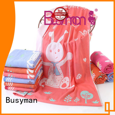 Busyman jacquard bath towel perfect for sports