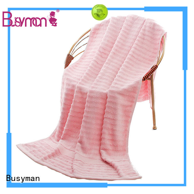 Busyman plain beach towel optimal for