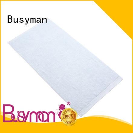 Busyman environmentally friendly bamboo bath sheets optimal for gift