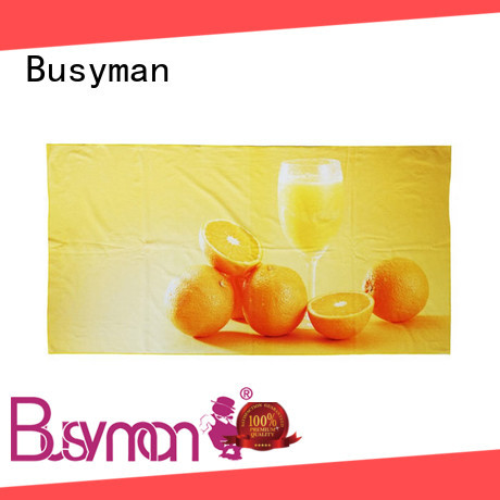 Busyman beach towels with logo best for picnic