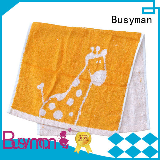 Busyman soft touch wholesale towels widely employed for gift