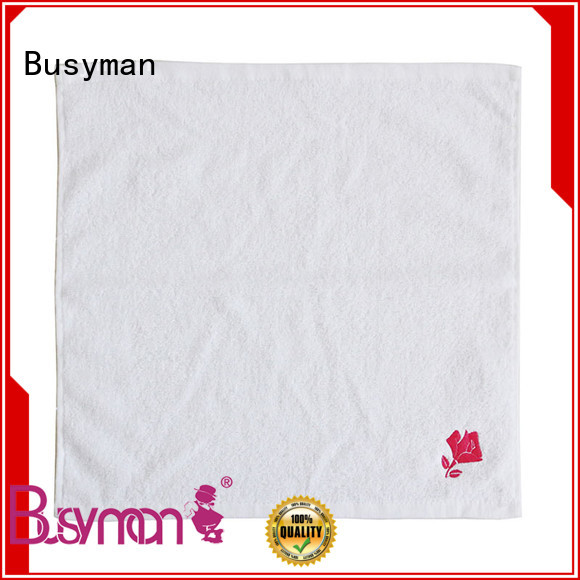 Busyman wholesale hand towel widely used for kitchen