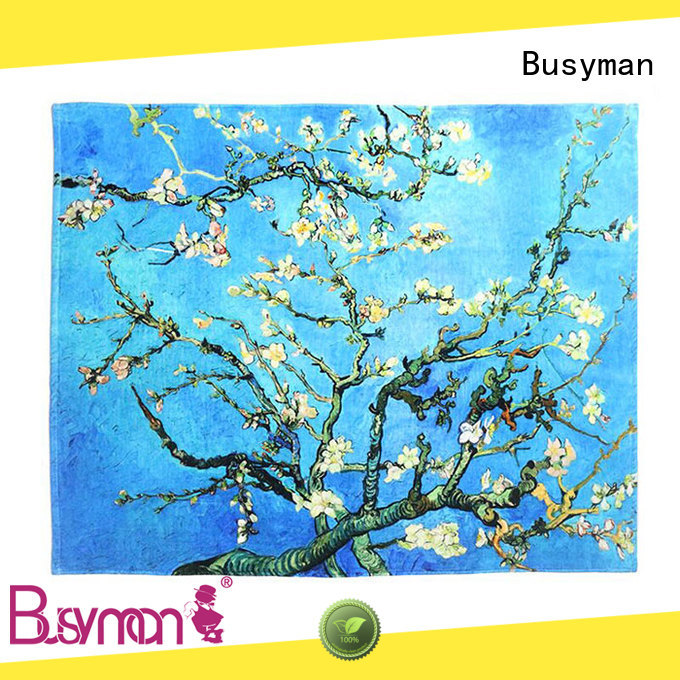 Busyman comfortable hand towel printing ideal for kids use