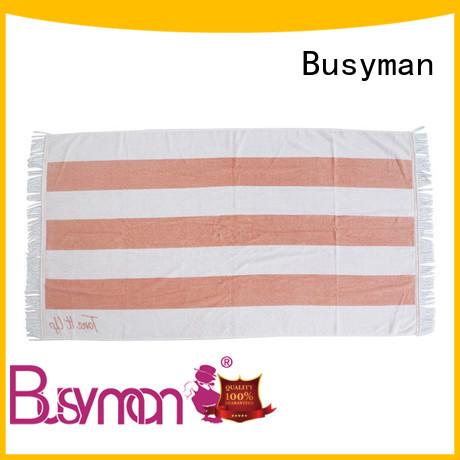 Busyman soft custom printed beach towels picnic
