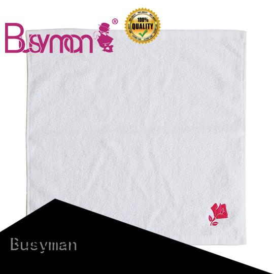 Busyman soft wholesale hand towel hotel