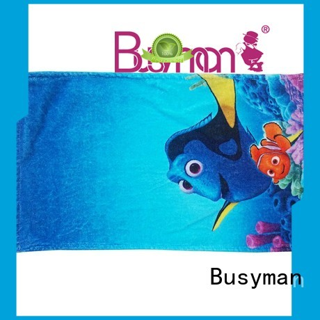 Busyman custom printed hand towels