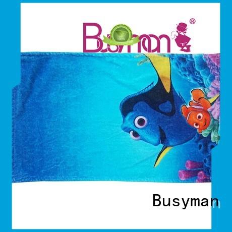 Busyman custom printed hand towels