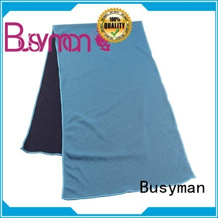 Busyman perfect cooling towel widely applied for yoga