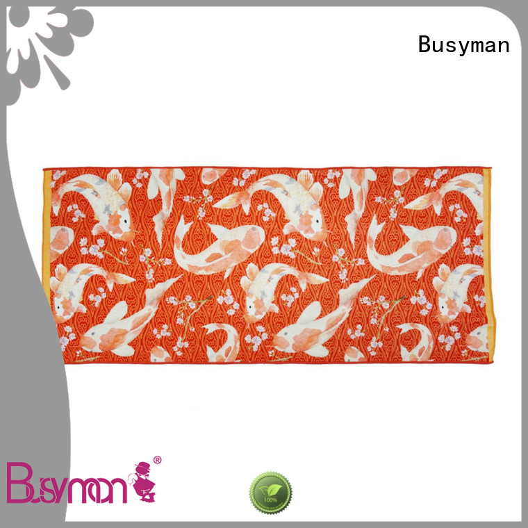 Busyman cotton towel ideal for kids use