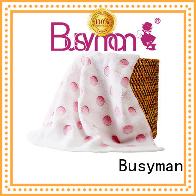 Busyman jacquard towels design great for home