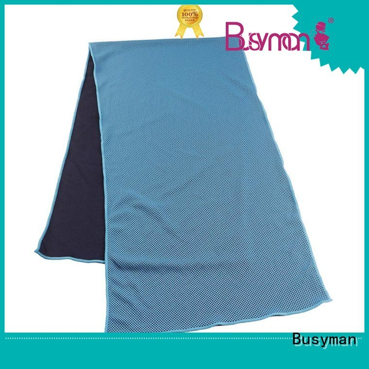 Busyman professional perfect cooling towel optimal for yoga