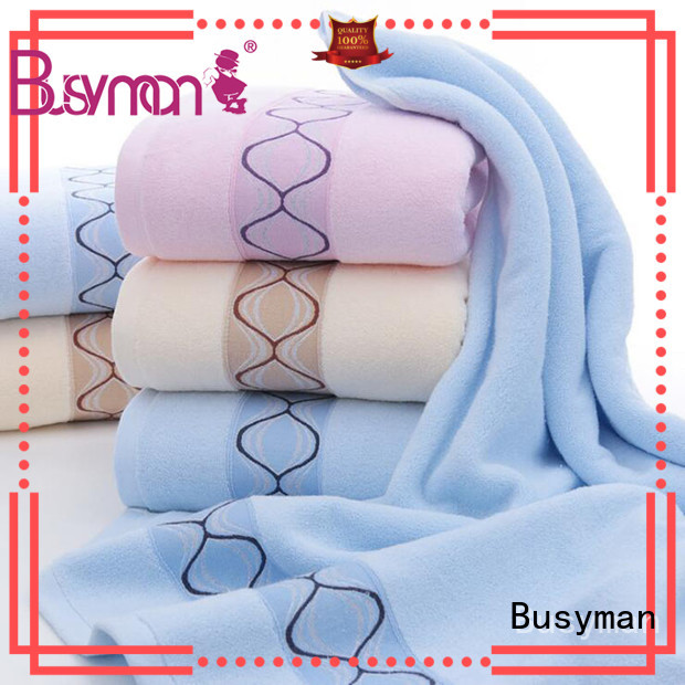 Busyman personalized hand towels ideal for adults