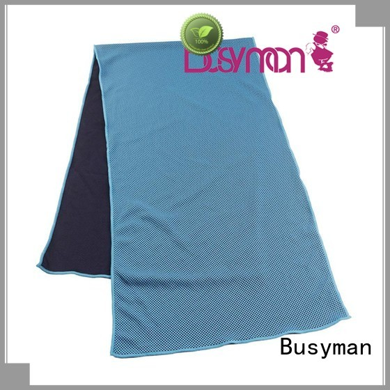 Busyman economical perfect cooling towel widely used for yoga