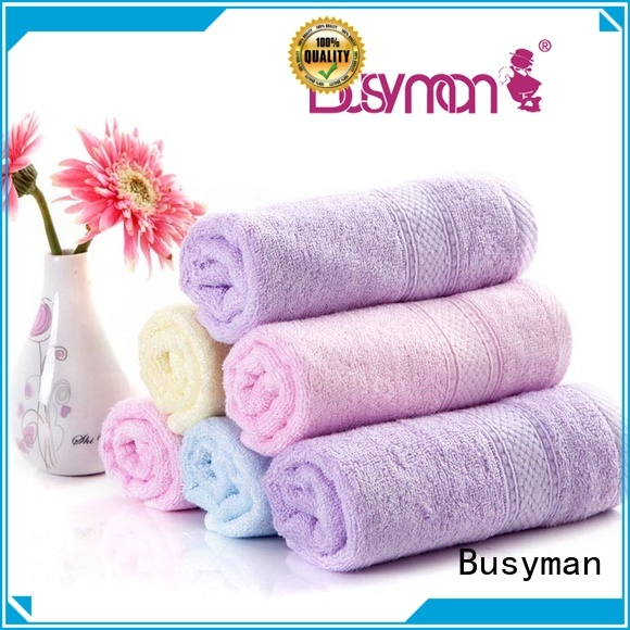 Busyman comfortable custom beach towels needed for sports