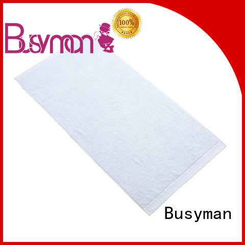 Busyman soft bamboo bath sheets perfect for sports