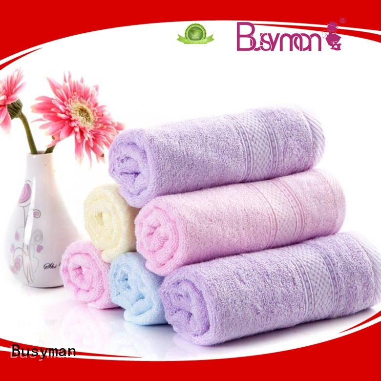 Busyman eco-friendly wholesale beach towels needed for babies
