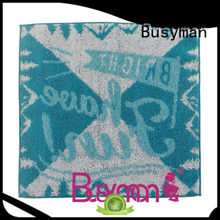 Busyman high quality fabric cotton hand towel best for gift