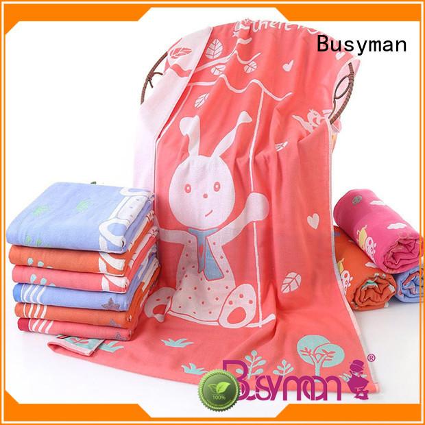 Busyman cotton towel sports