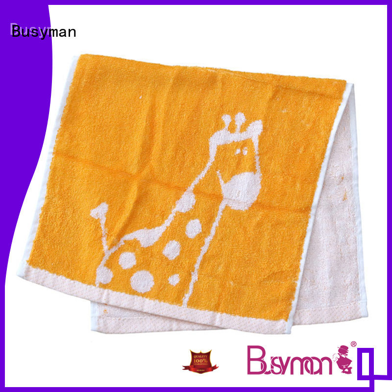 100% upper cotton jacquard towels excellent for gift