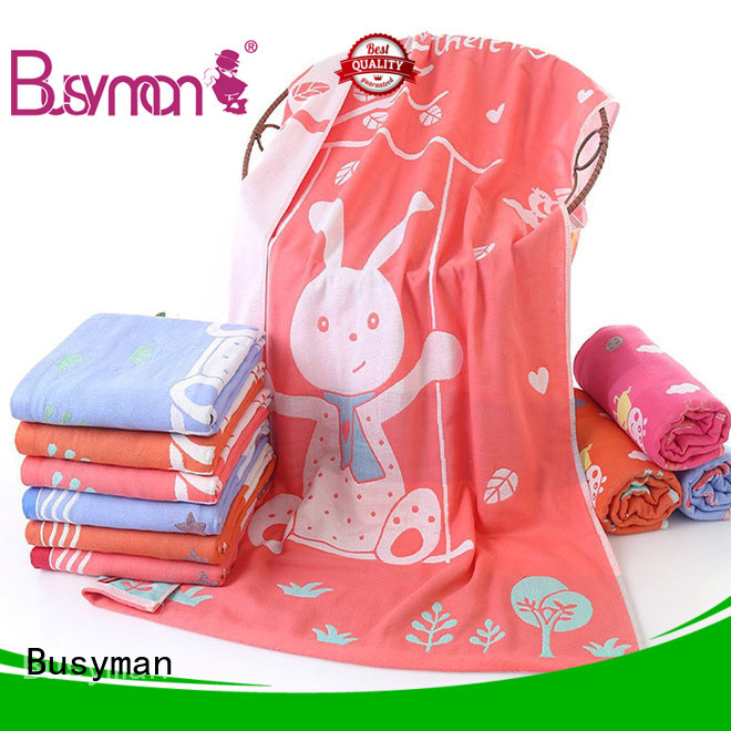 Busyman jacquard towels design optimal for sports
