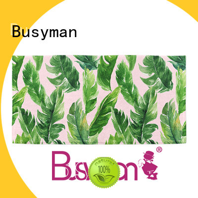 Busyman sand free personalized beach towels suitable for gym