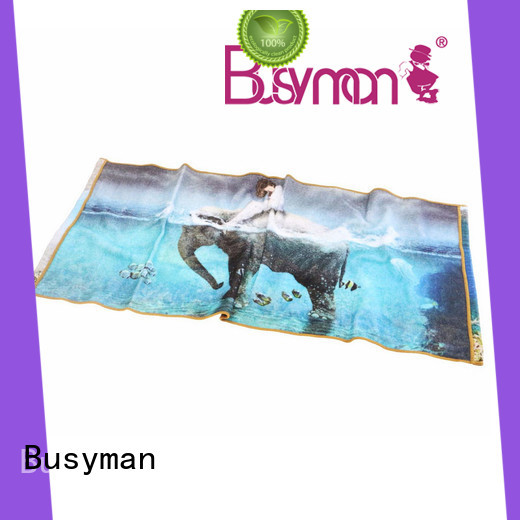 Busyman printed hand towel ideal for kids use