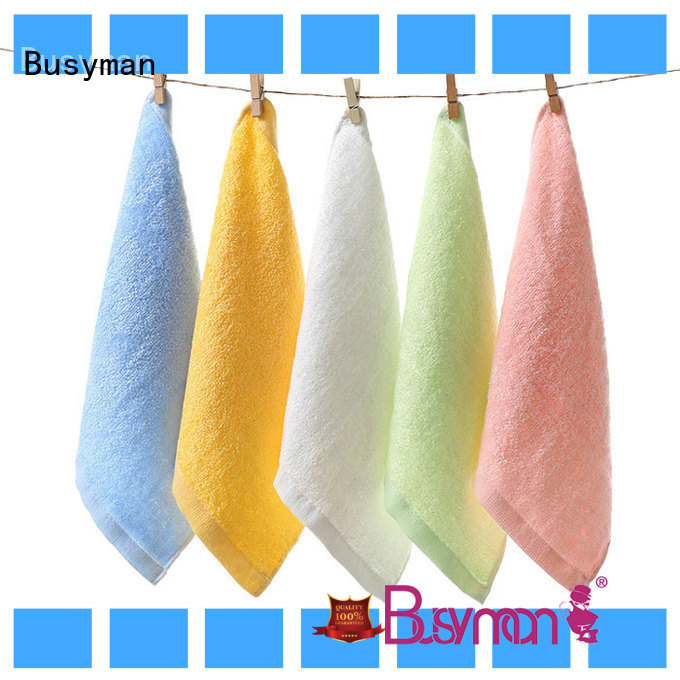 Busyman soft towel manufacturer ideal for adults