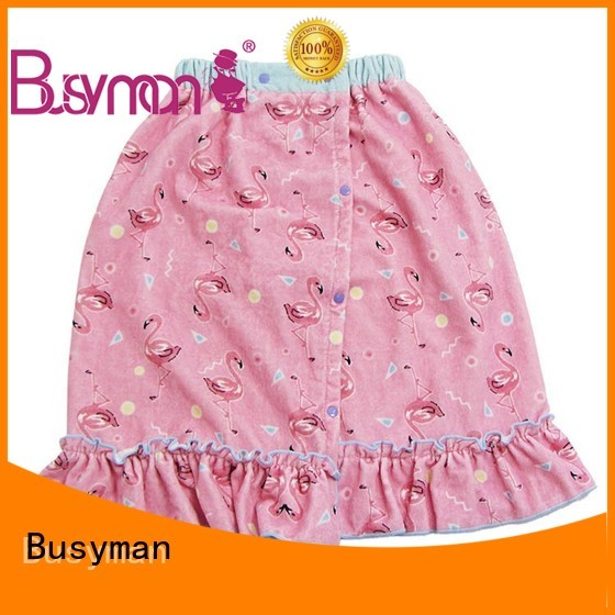 Busyman good water absorption bath dress indispensable for bathroom