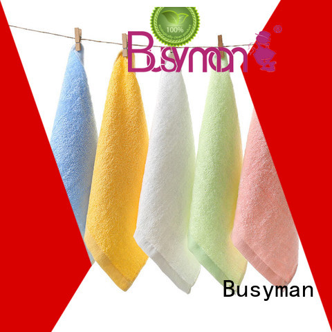 Busyman bamboo hand towel great for adults