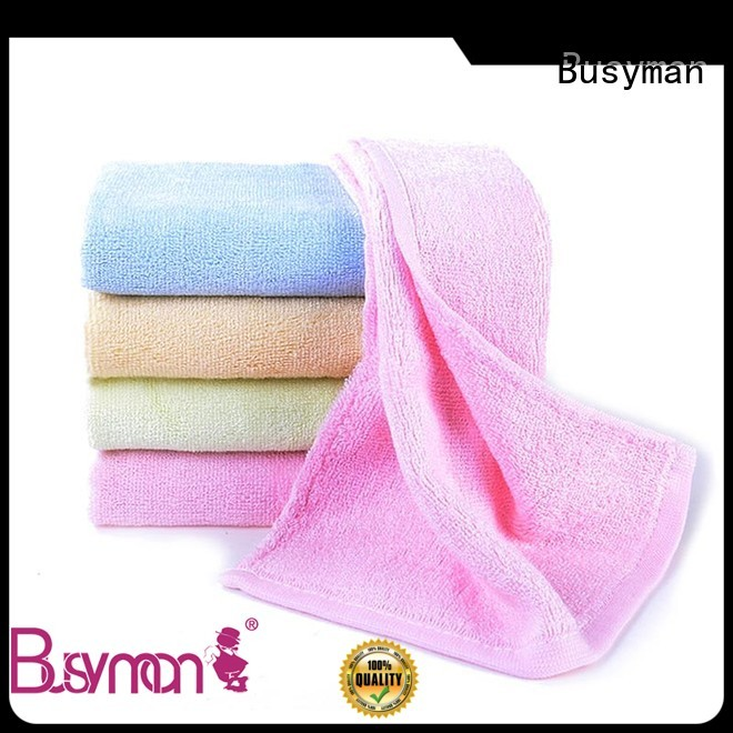 Busyman wholesale hand towel widely applied for gift