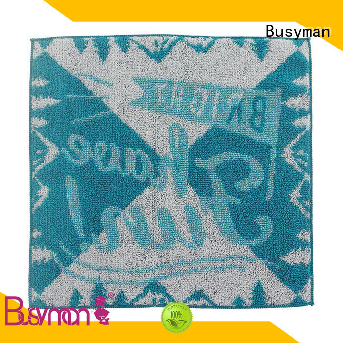 Busyman jacquard towels best for hotel use