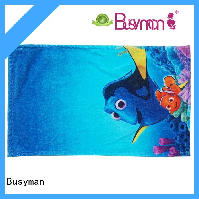 Busyman quick dry hand towels 100% cotton perfect for kids use