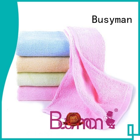 Busyman good design plain hand towel widely used for kitchen