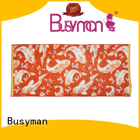 Busyman Eco-friendly bath towels printed ideal for home