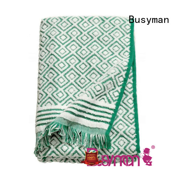 comfortable jacquard beach towel sports