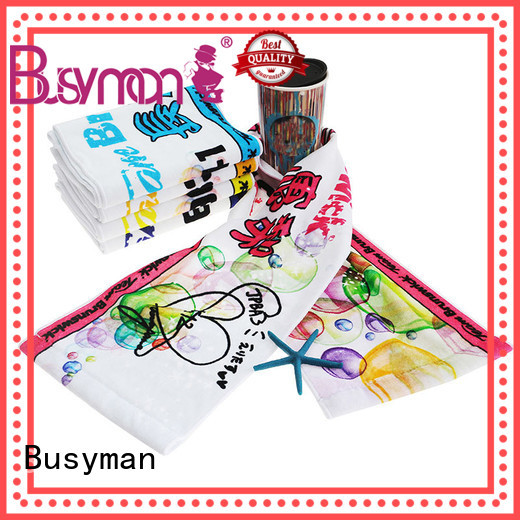 Busyman cotton sports towel concert