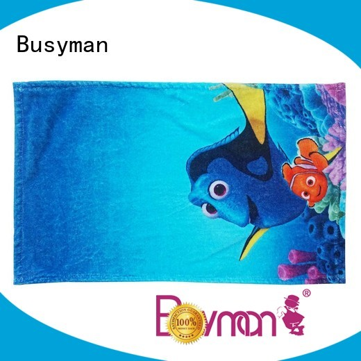 Busyman quick dry custom hand towel perfect for sports