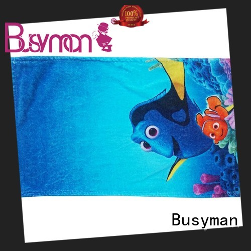 Busyman distinctive 100 cotton hand towels nice user experience for hotel
